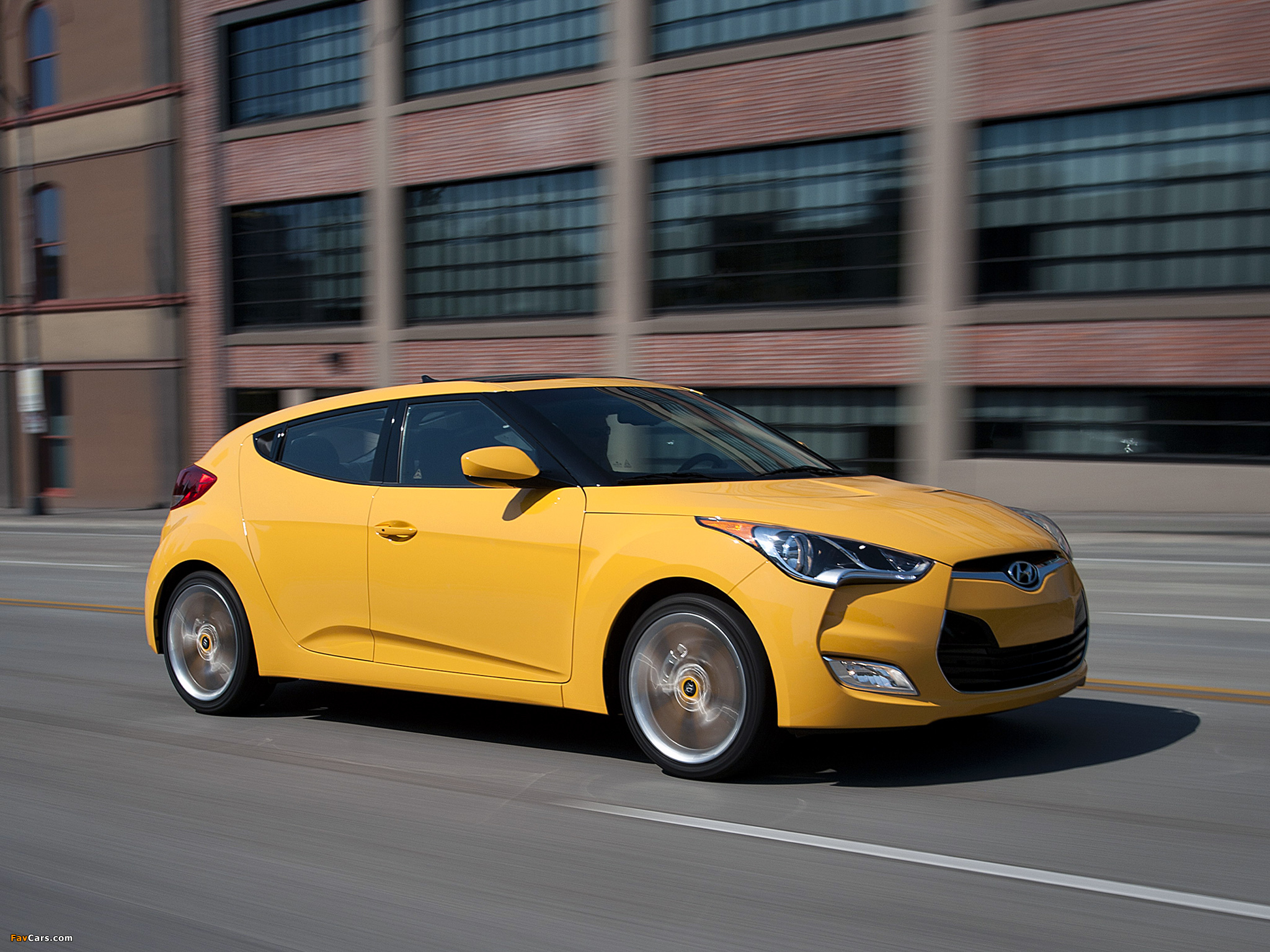 Hyundai Veloster US spec 2011 wallpapers 2048x1536