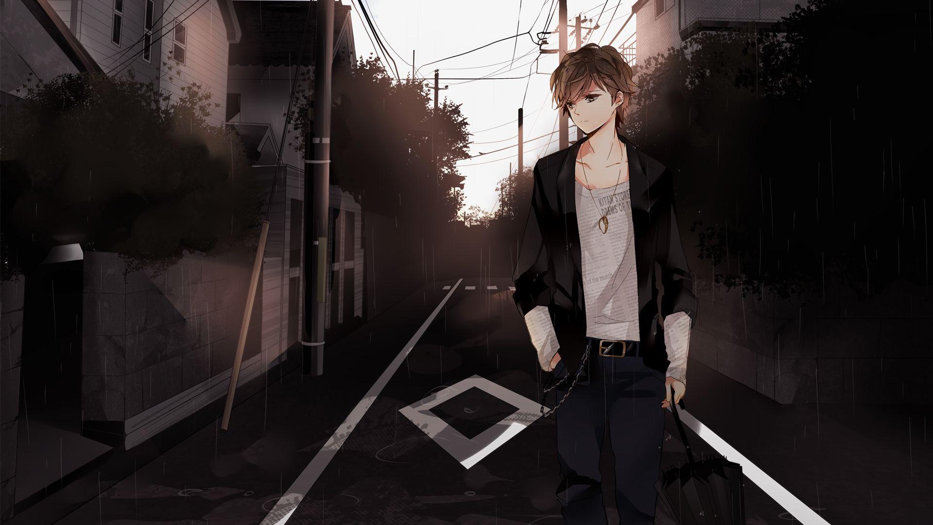 Sad Anime Boy Wallpapers   Top Sad Anime Boy Backgrounds 1920x1080