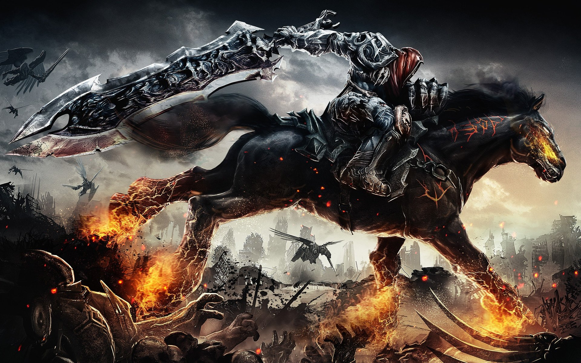 darksiders game 1920x1200 40 Amazing HD Video Game Wallpapers 1920x1200