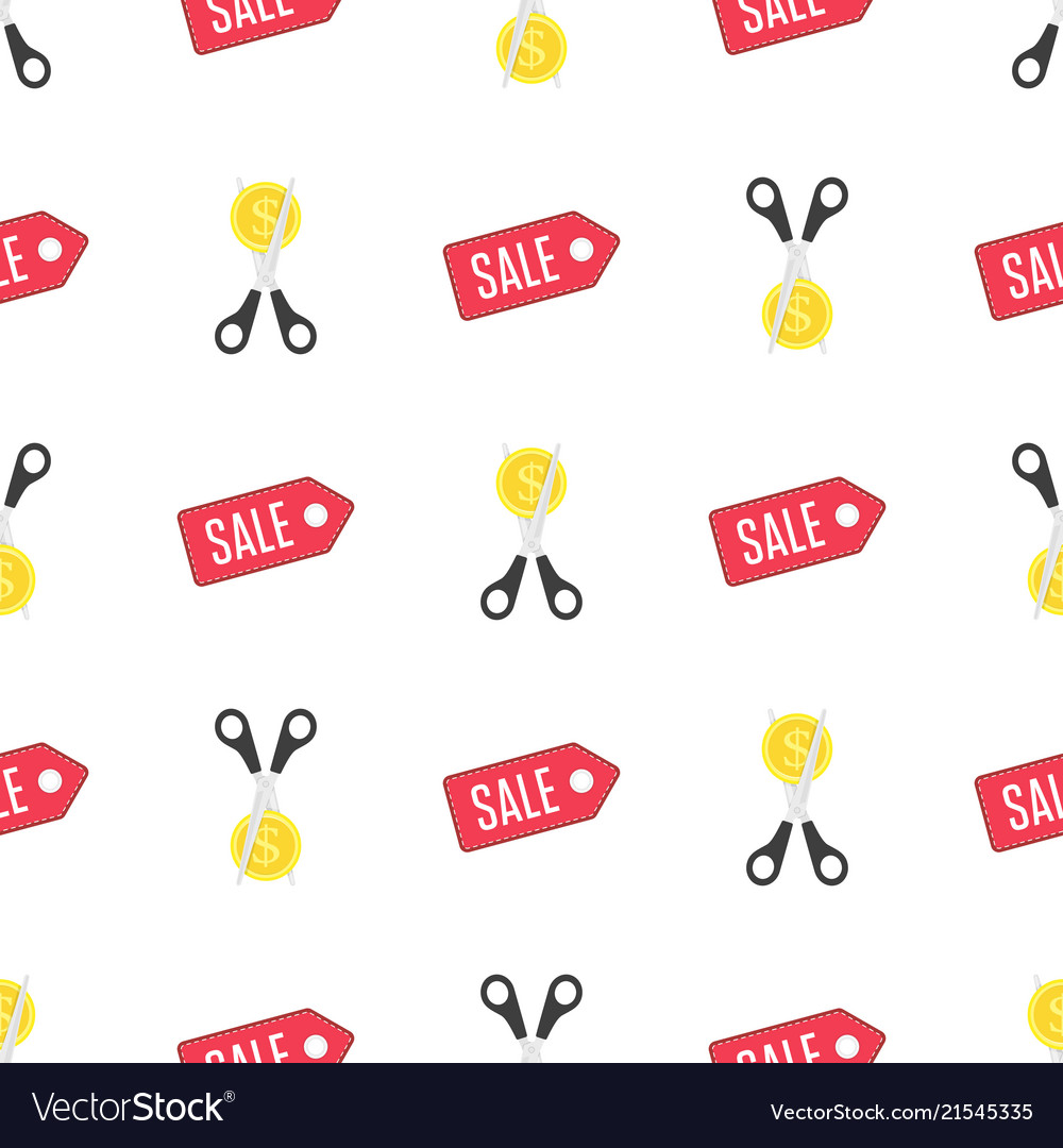 Discount background pattern Royalty Vector Image 1000x1080