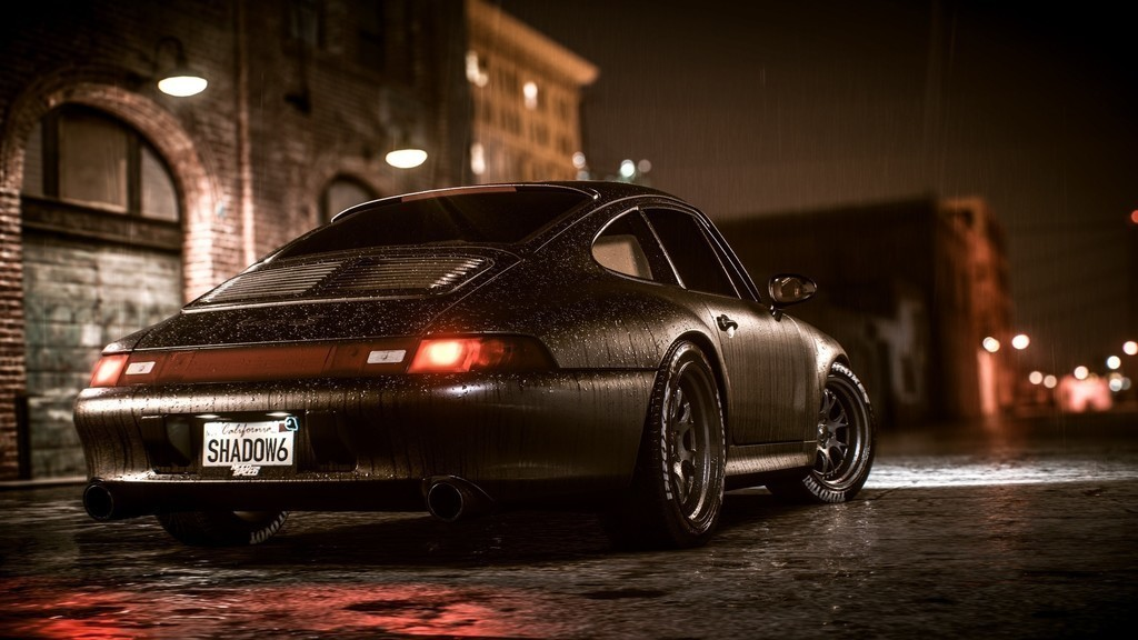 Need For Speed Payback Sports Car Night Rain Wallpaper 1024x576