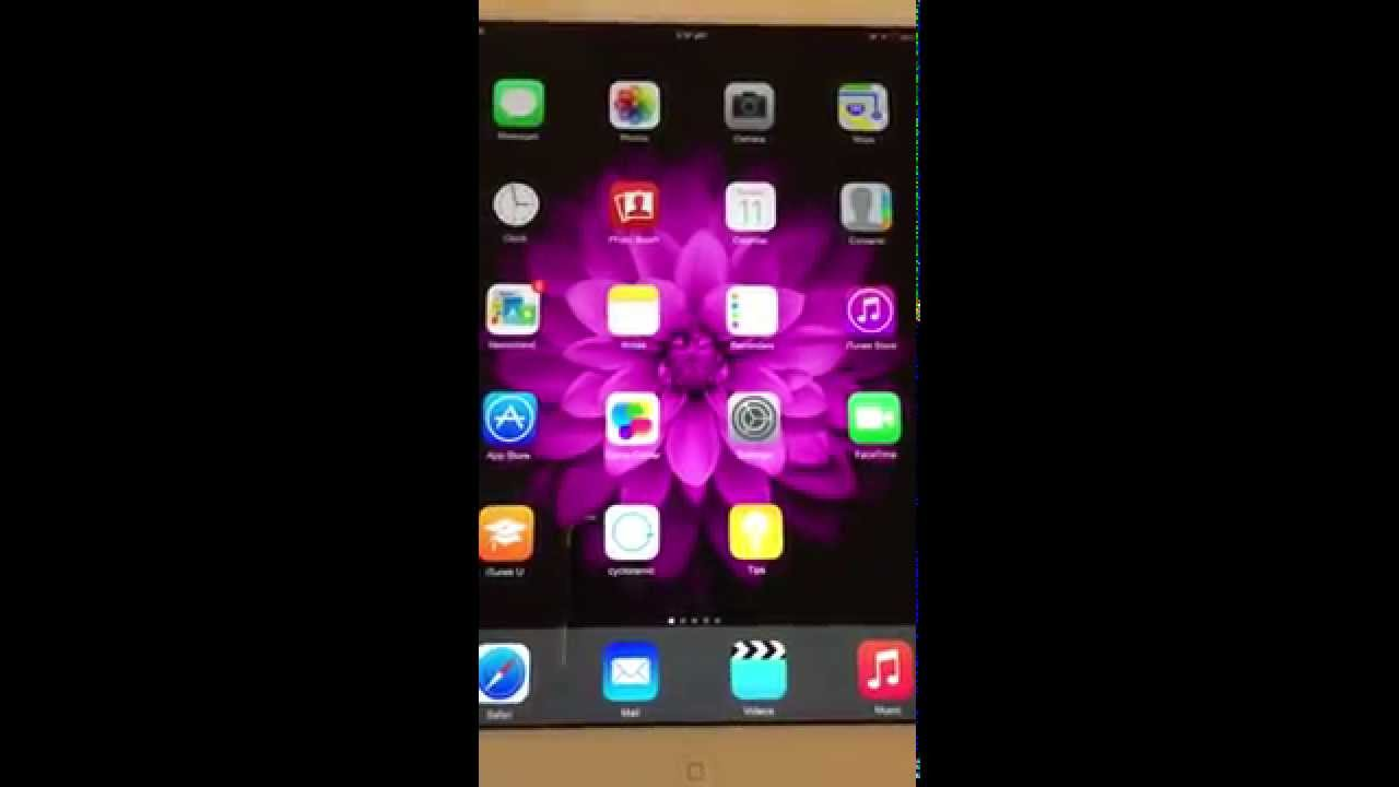 How to change Wallpaper of ipad ipad mini iphone 1280x720