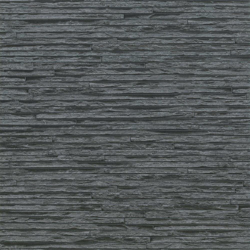 Brix Slate Brick Wall Effect Designer Feature Wallpaper eBay 1000x1000