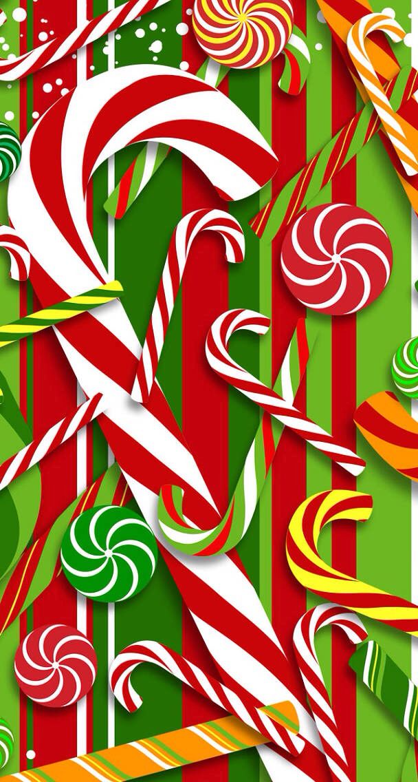 Download Yummy Candy Cane Wallpaper Apps Directories 608x1136
