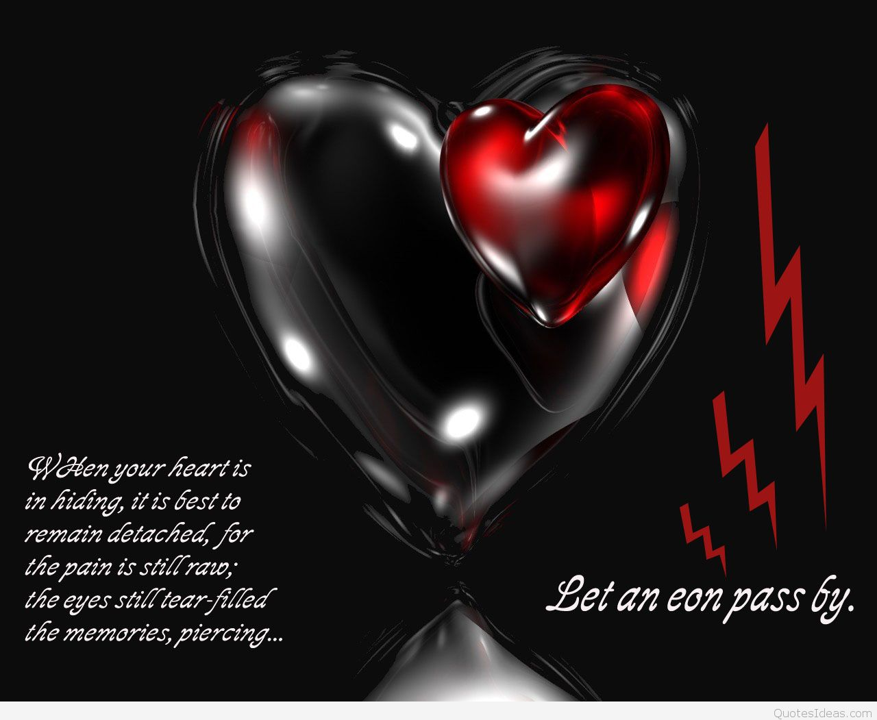 Broken heart sad quotes with wallpapers images hd 2016 1280x1051