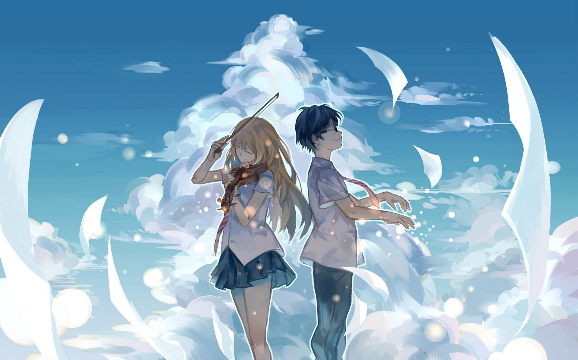 146 Your Lie in April HD Wallpapers Background Images 1920x1196