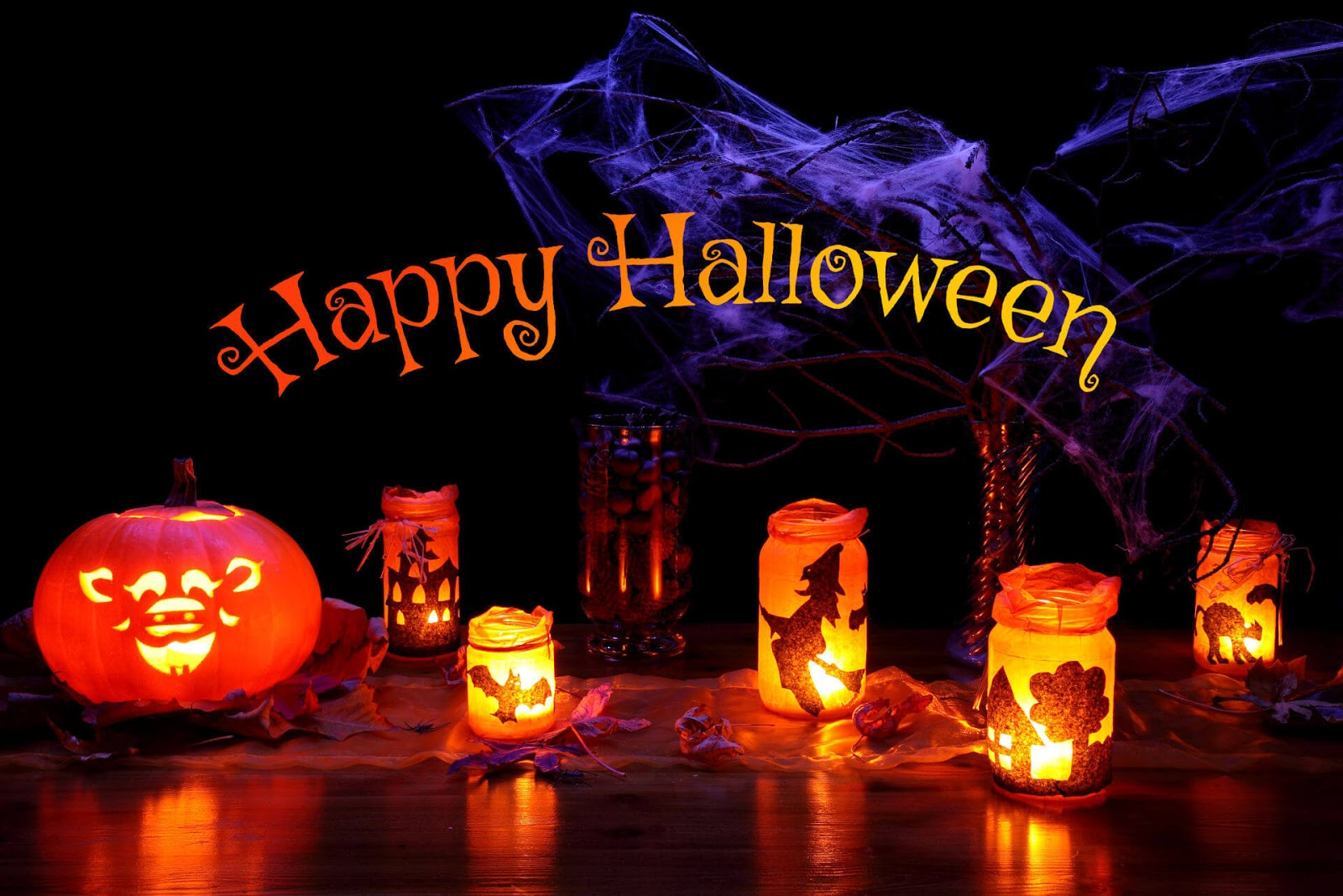 Happy Halloween 2017 images background wallpaper posters 1600x1067