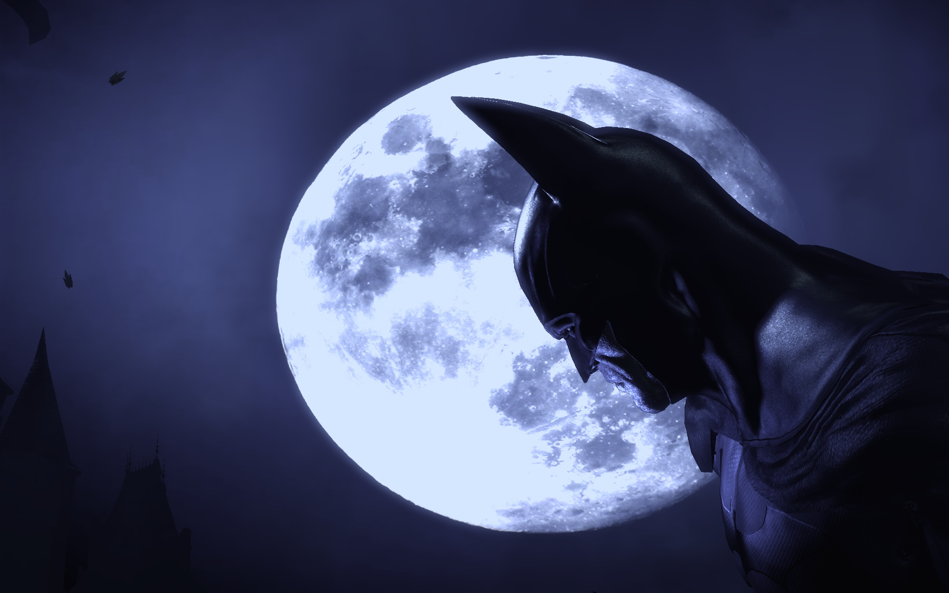 Batman Arkham Asylum desktop wallpaper 1920x1200