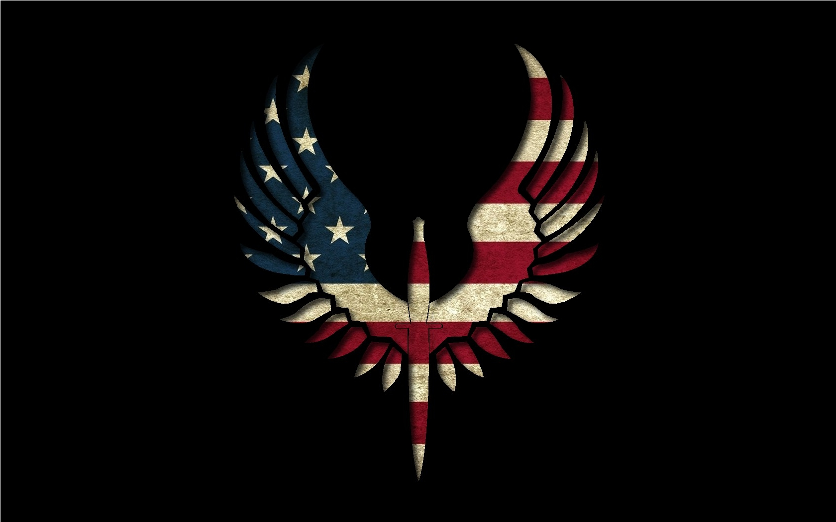 Eagles flags USA wallpaper 1680x1050 61873 WallpaperUP 1680x1050