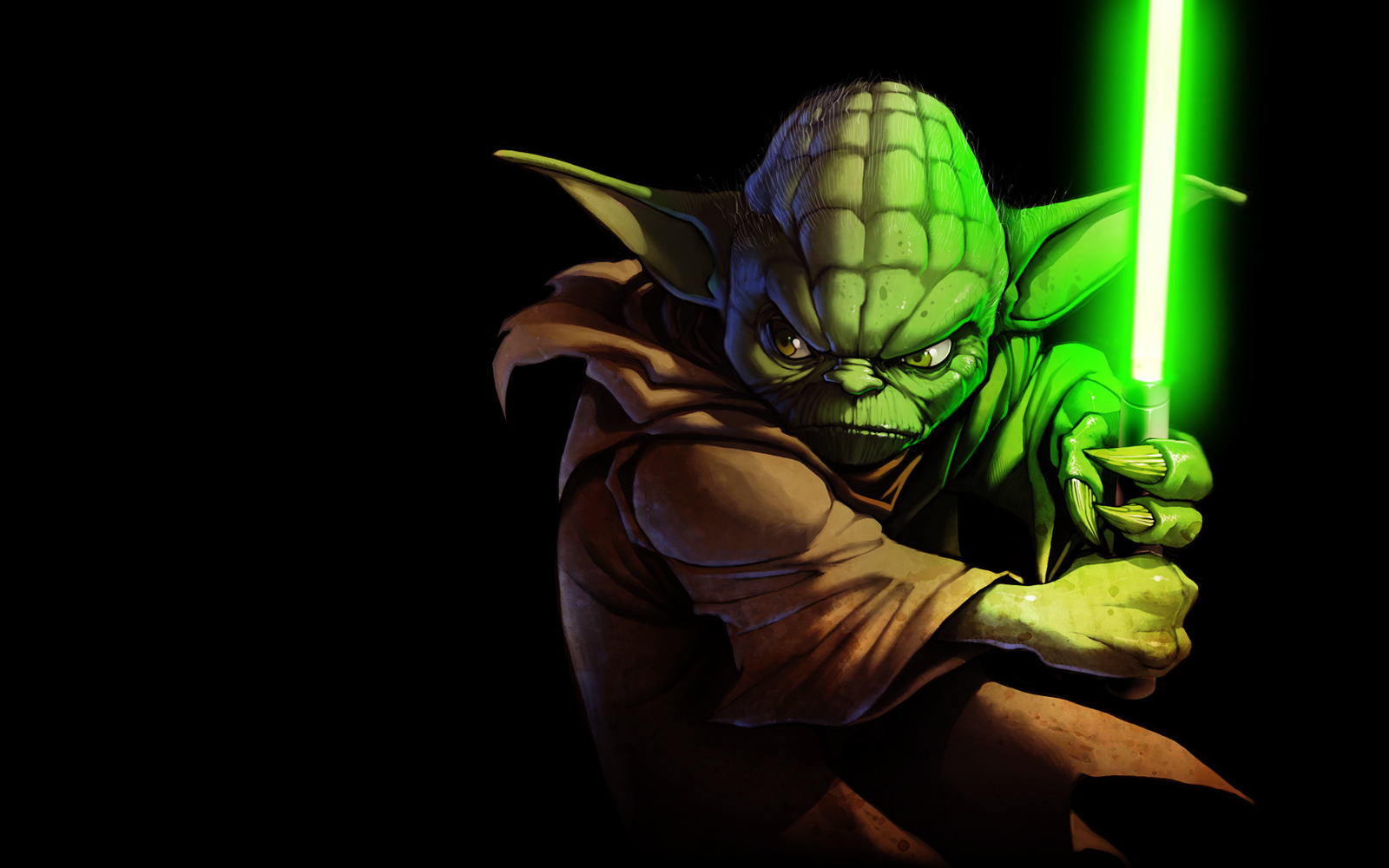 Master Yoda Star Wars HD Wallpapers Download In For 1600x1000