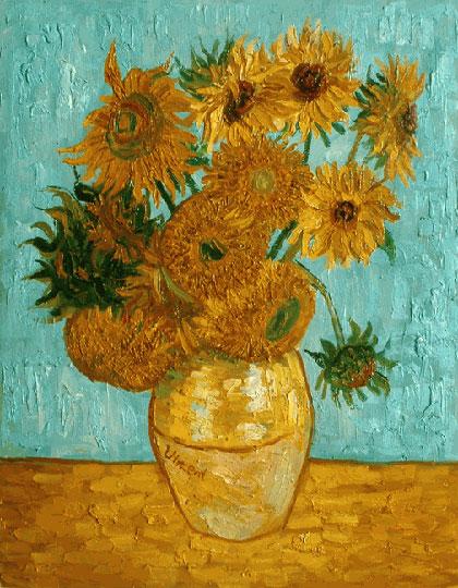 van gogh sunflowers wallpaper wallpapersafari