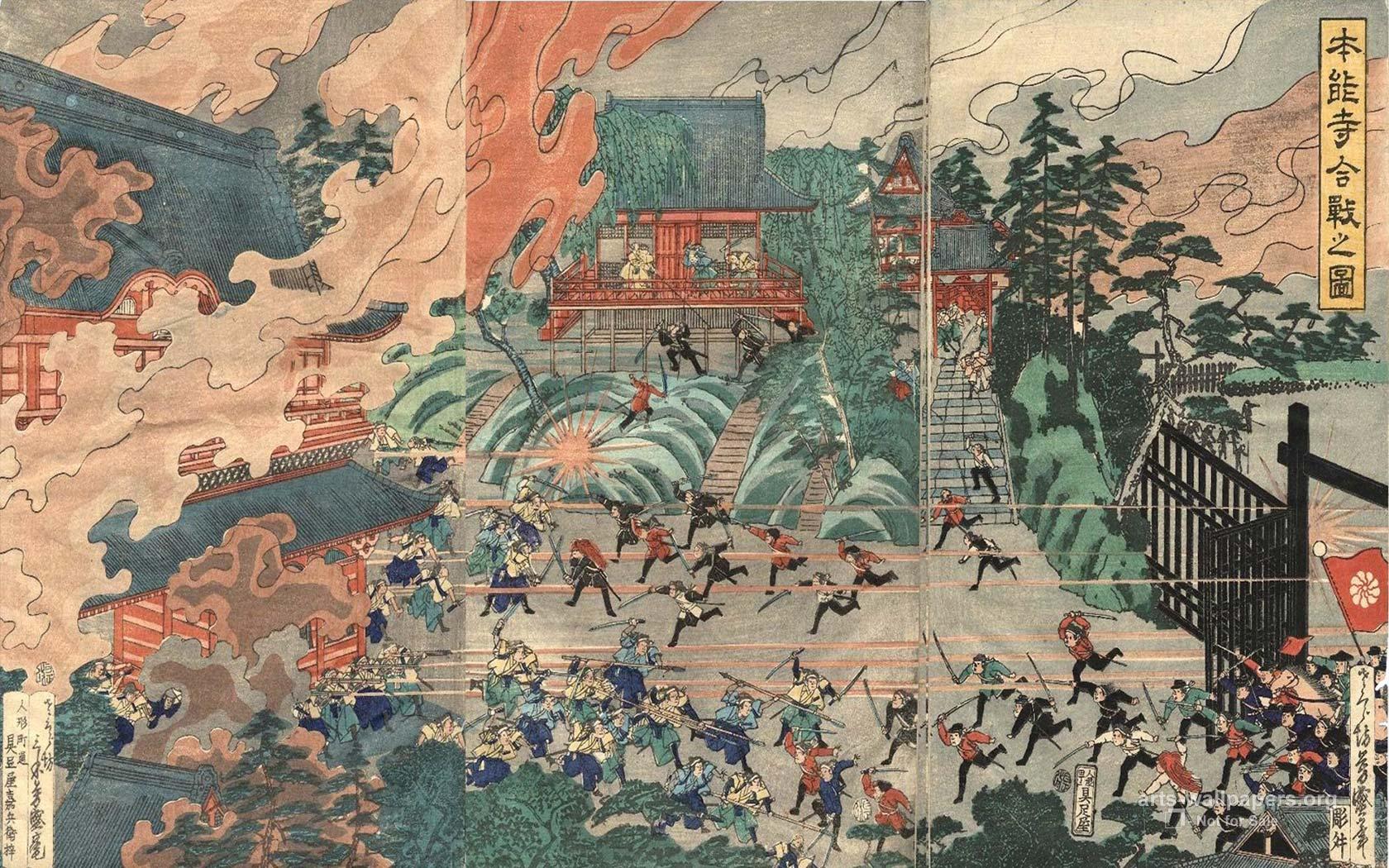 Japanese Art Imperial Paintings Wallpaper Wallpapers Paintings 1680x1050