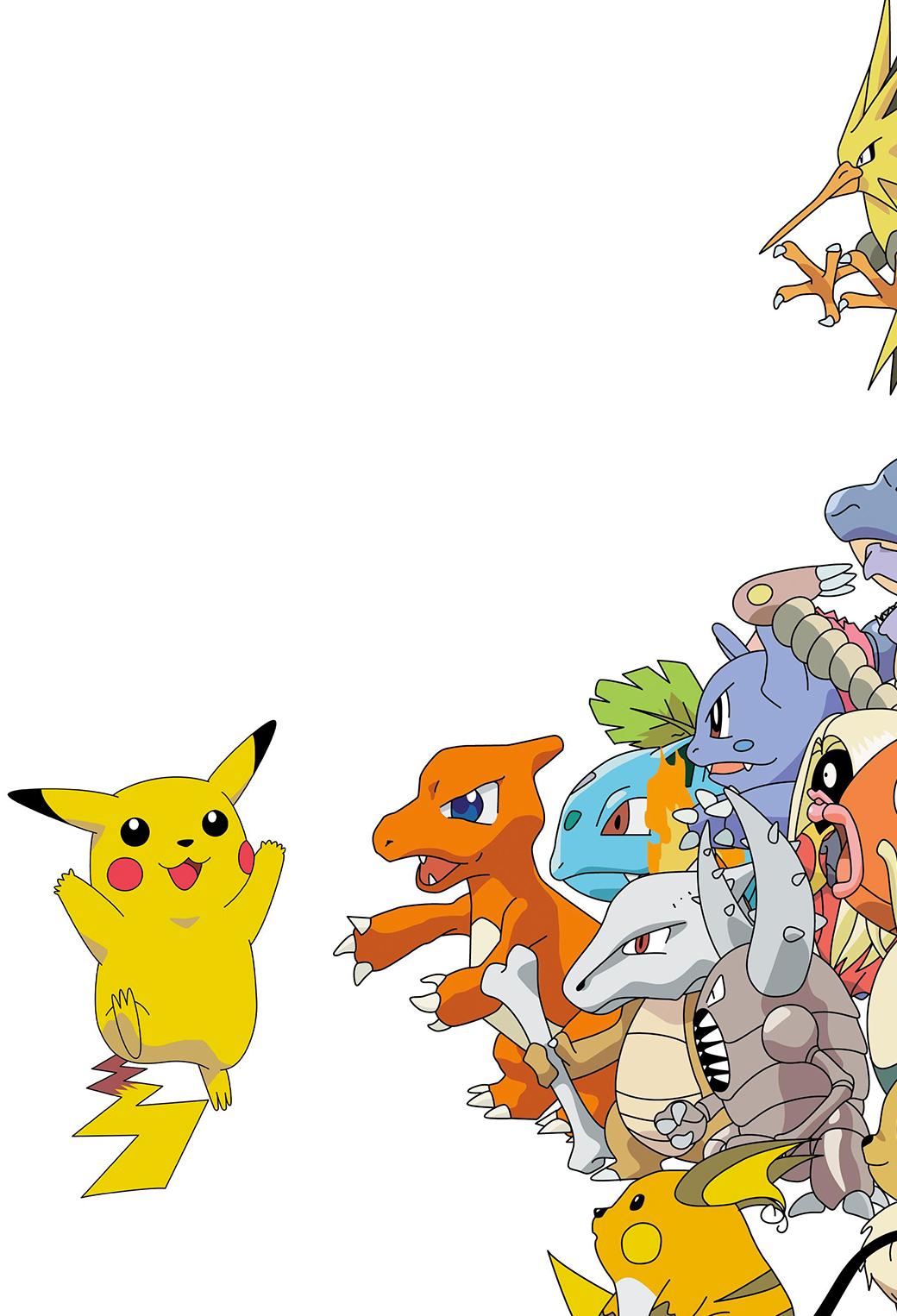 Pokemon Pikachu   iPhone Parallax Wallpaper for iPhone X 8 7 6 1040x1526