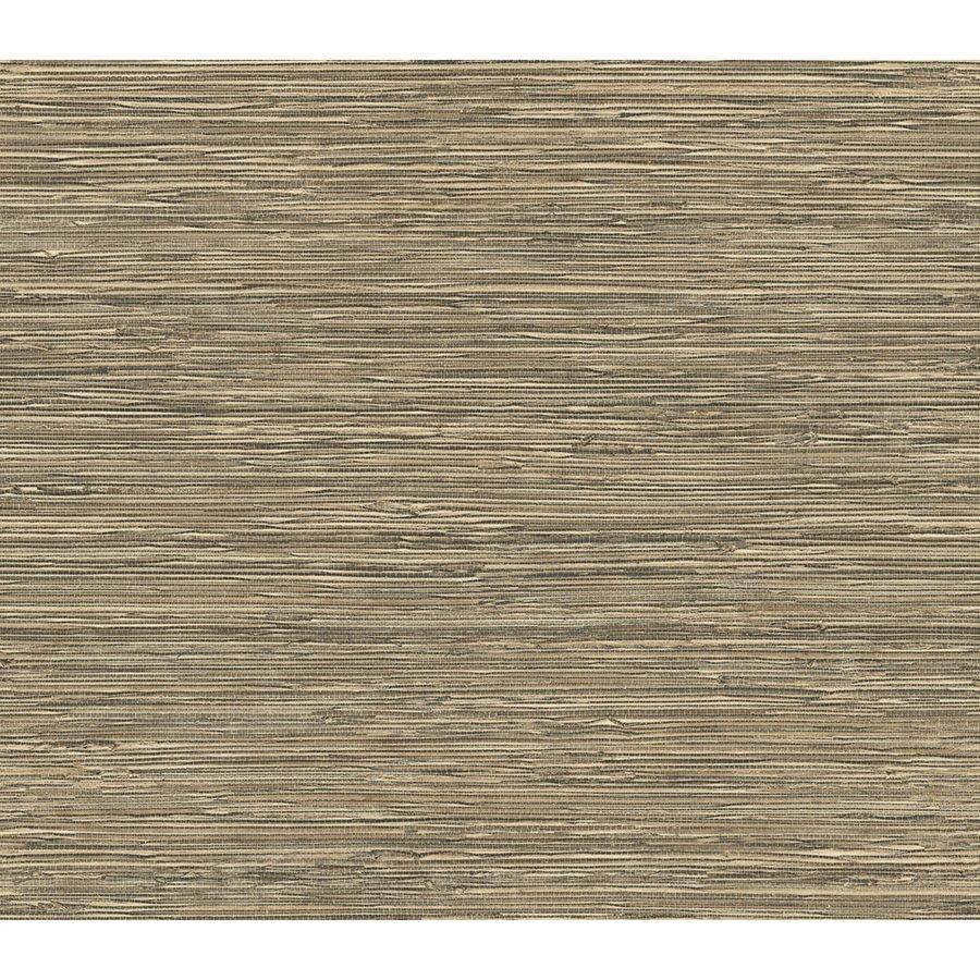 Blue Mountain Grass Cloth Neutral Peelable Vinyl Prepasted Wallpaper 900x900