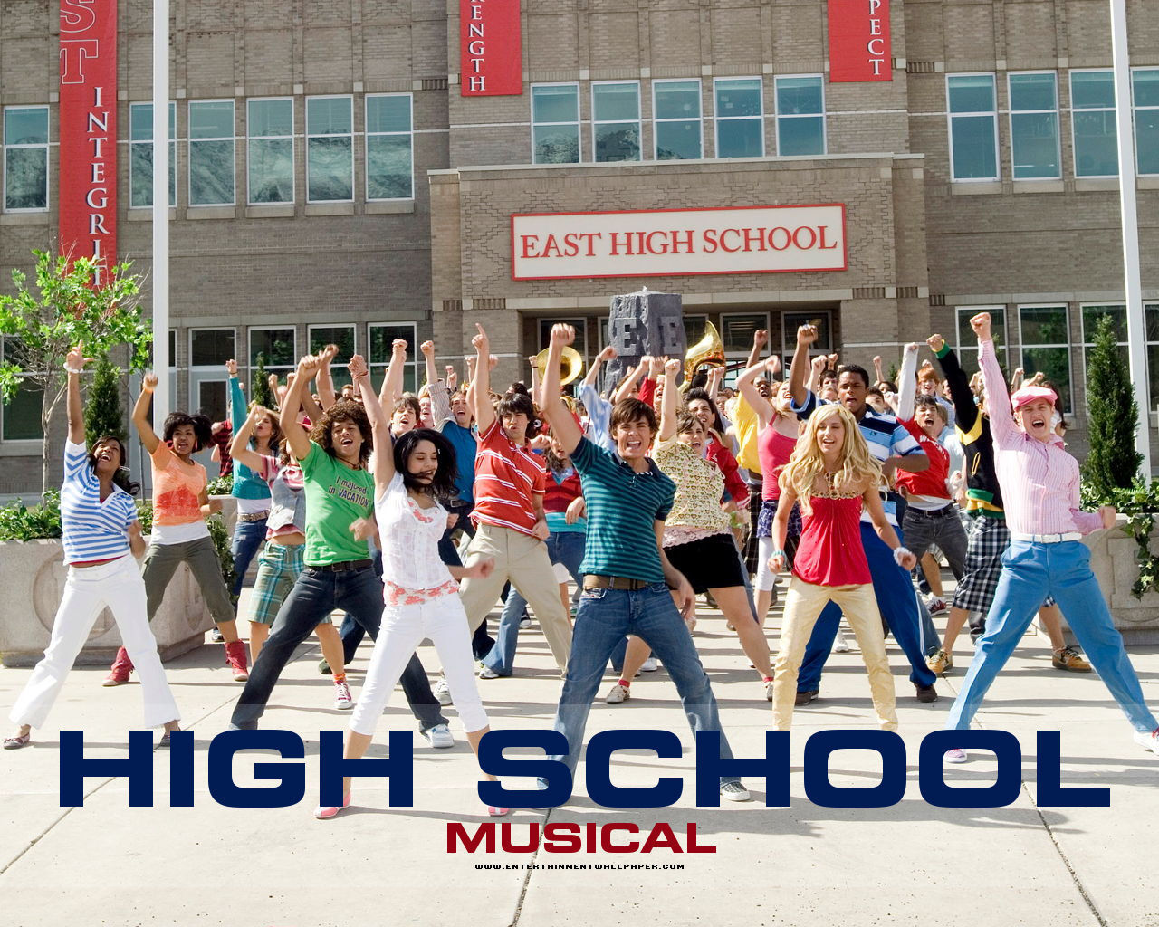 download HSM High School Musical Wallpaper 7091986 [1280x1024 1280x1024