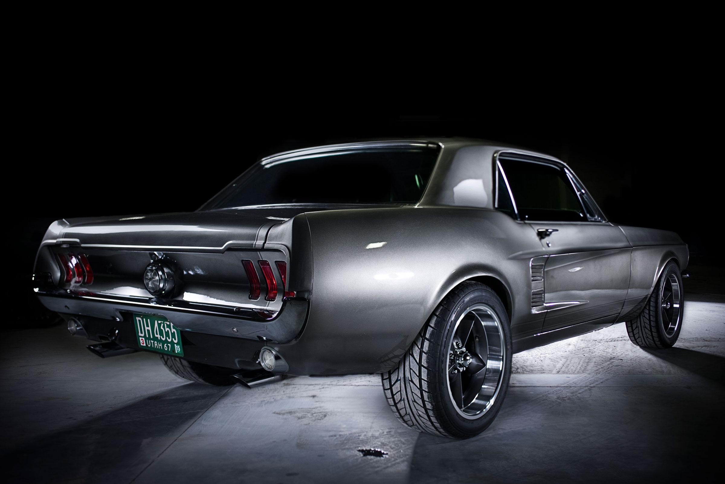 rear 1967 mustang wallpaper 2400x1603