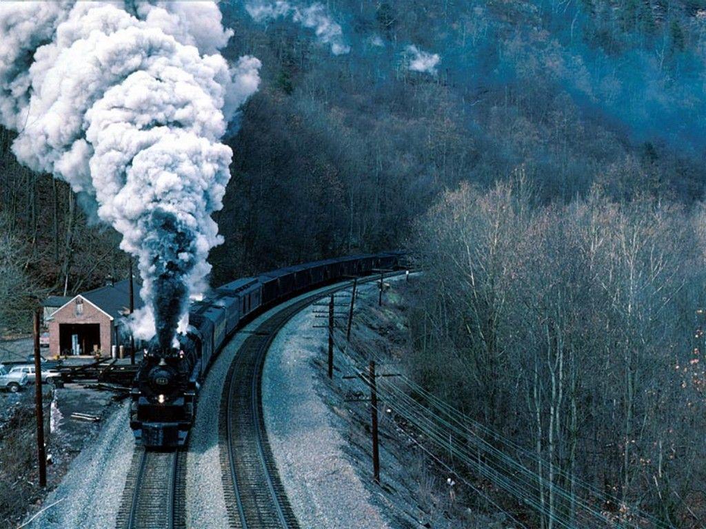 50 Train Screensavers And Wallpaper On Wallpapersafari