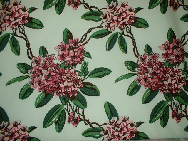 Carleton Varney   Rhododendron   Mint Wallpaper Pinterest 640x480
