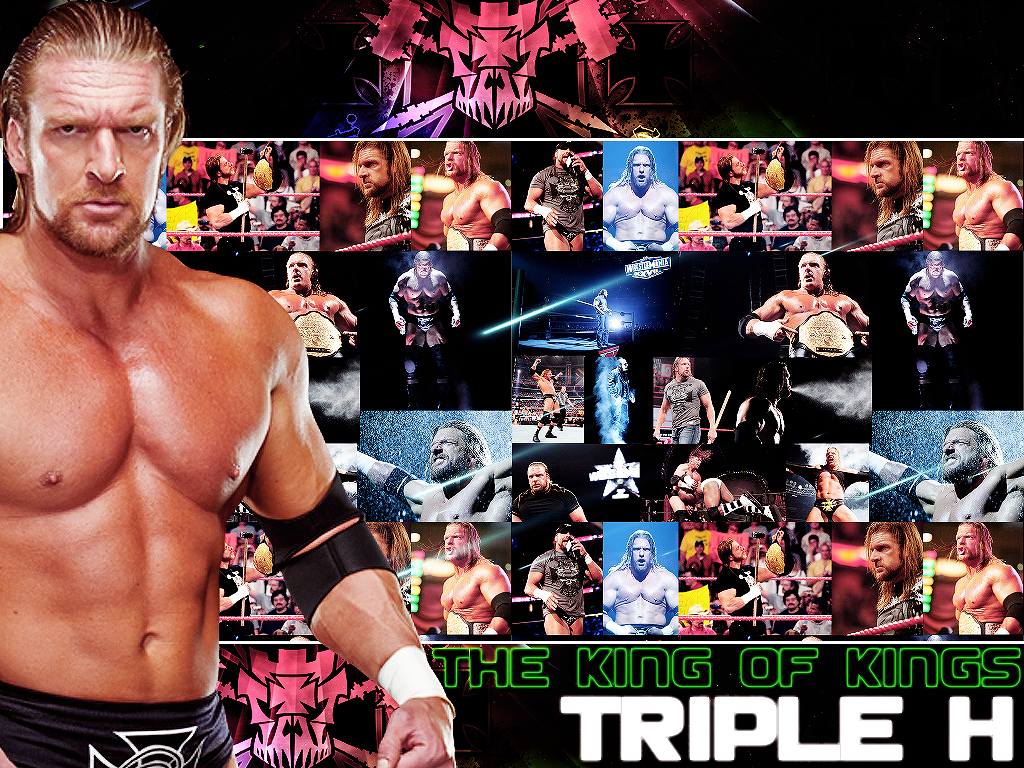 Triple H The King Of Kings Wallpaper   Triple H Wallpaper 30732605 1024x768
