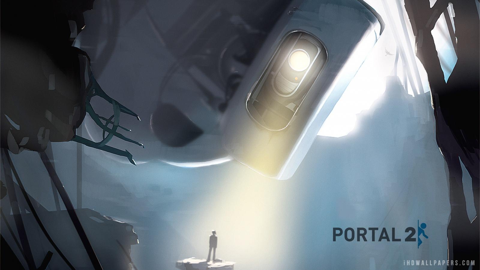 Portal 2 HD Wallpaper   iHD Wallpapers 1600x900