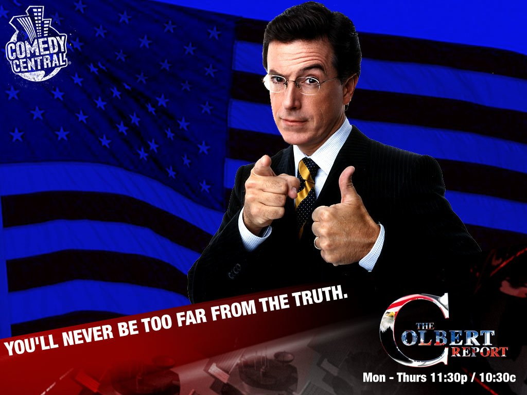 Stephen Colbert Wallpapers and Background Images   stmednet 1024x768