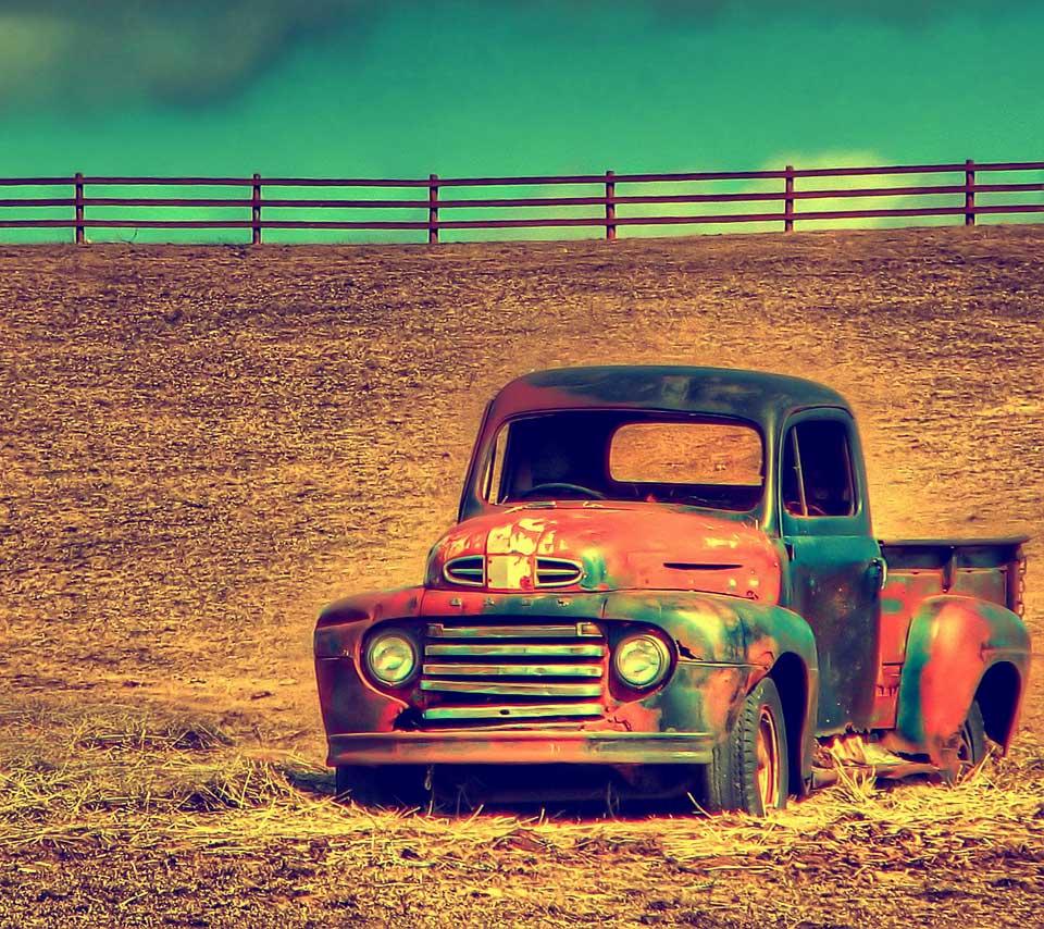 Classic Ford Truck Wallpaper 960x854