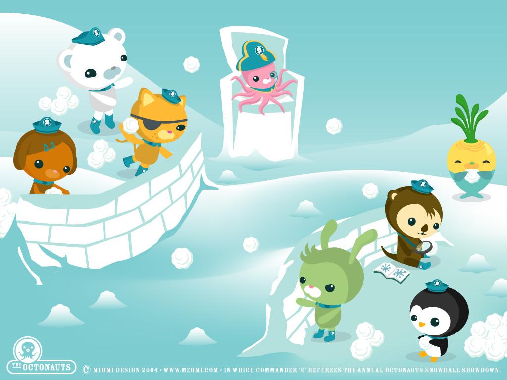 The Octonauts Winter Wallpaper Kawaii Wallpapers 1024x768