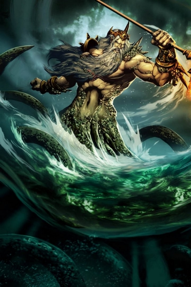 science fiction poseidon gods 1920x1080 wallpaper High Resolution 640x960