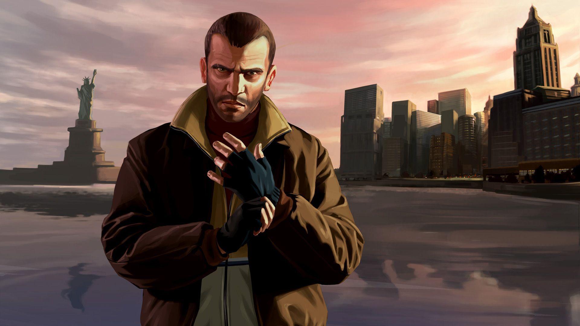Niko Bellic   Grand Theft Auto IV wallpaper 16628 1920x1080