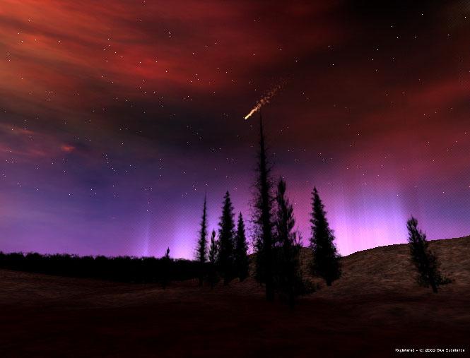 Northern Lights Screensaver