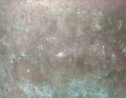 Pics of Grunge background image of aged copper with corroded patina 500x389