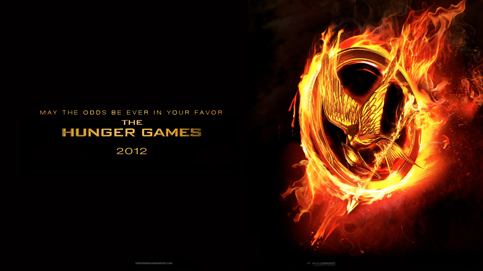 The Hunger Games Movie Poster Wallpapers   The Hunger Games Wallpaper 1600x900