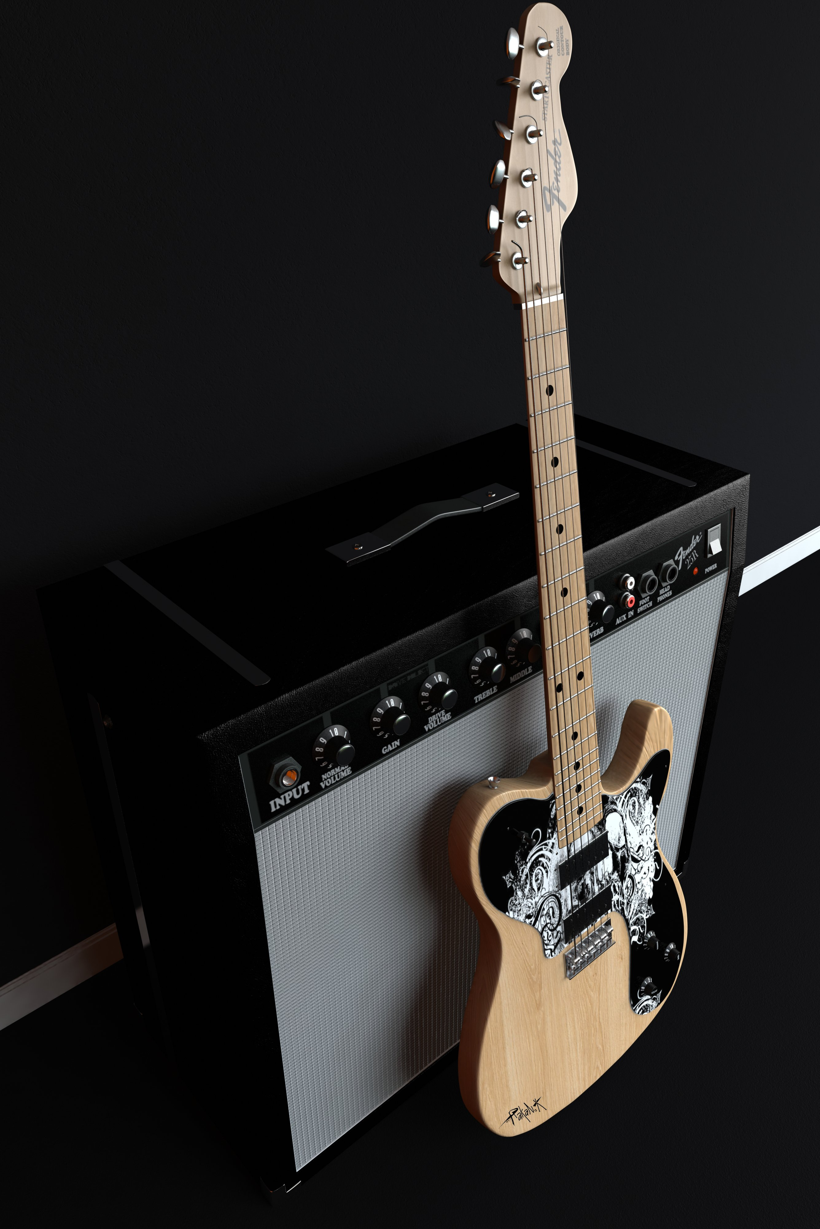 Fuentes de Informacin   Les paul vs Fender wallpapers 2671x4000