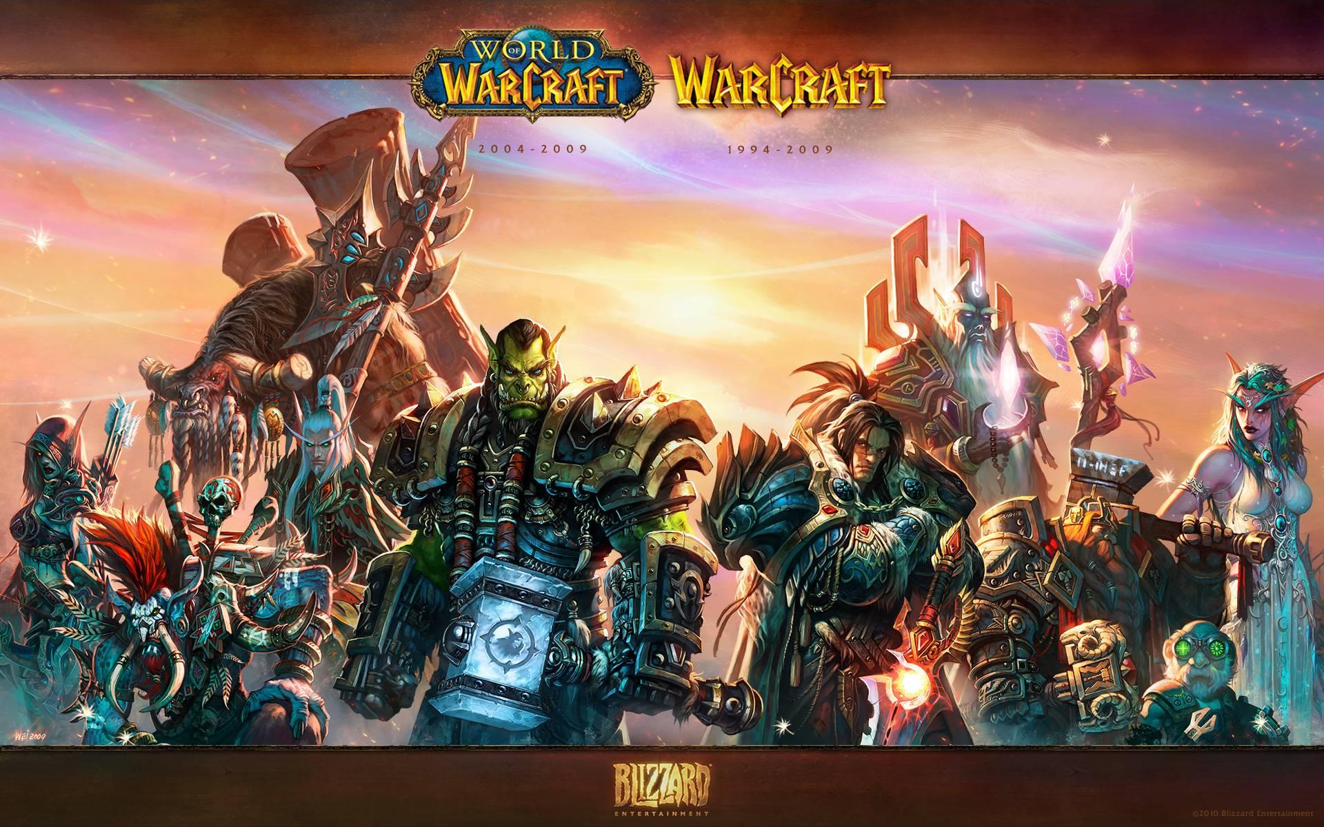 Free Download World Of Warcraft Wallpaper Alliance Vs Horde