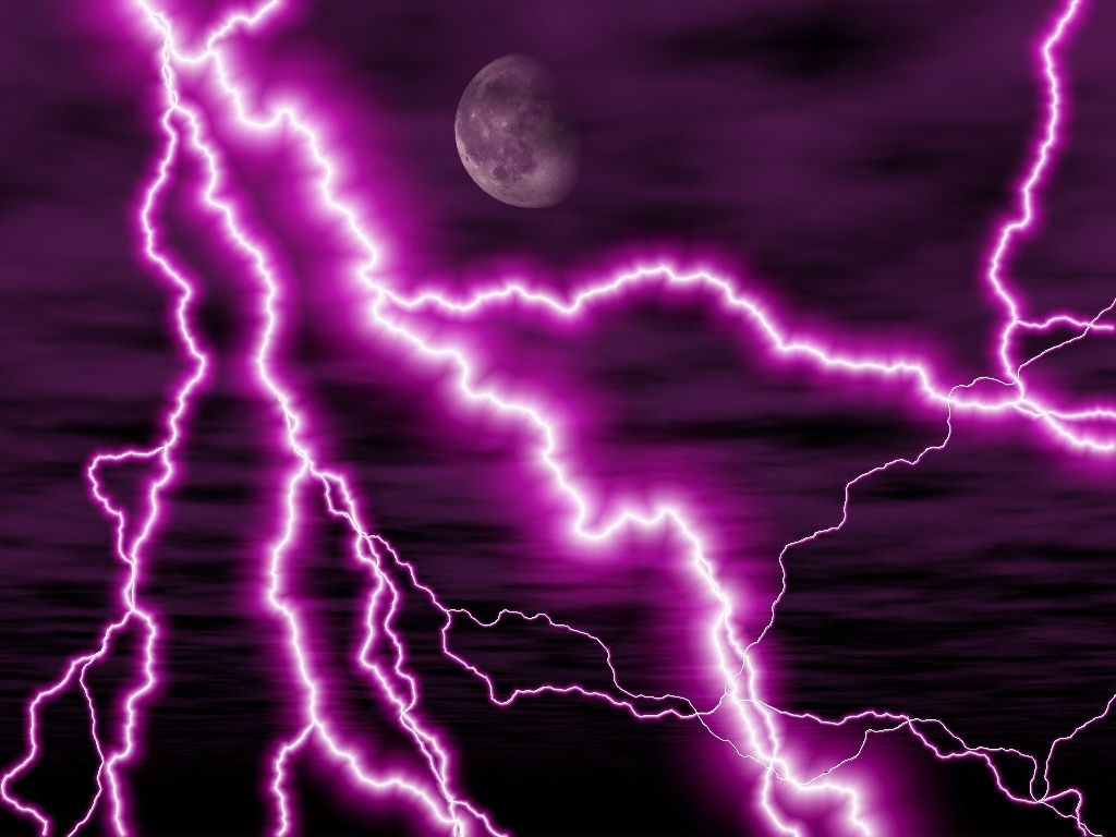 Wallpapers   HD Desktop Wallpapers Online Lightning Strikes 1024x768