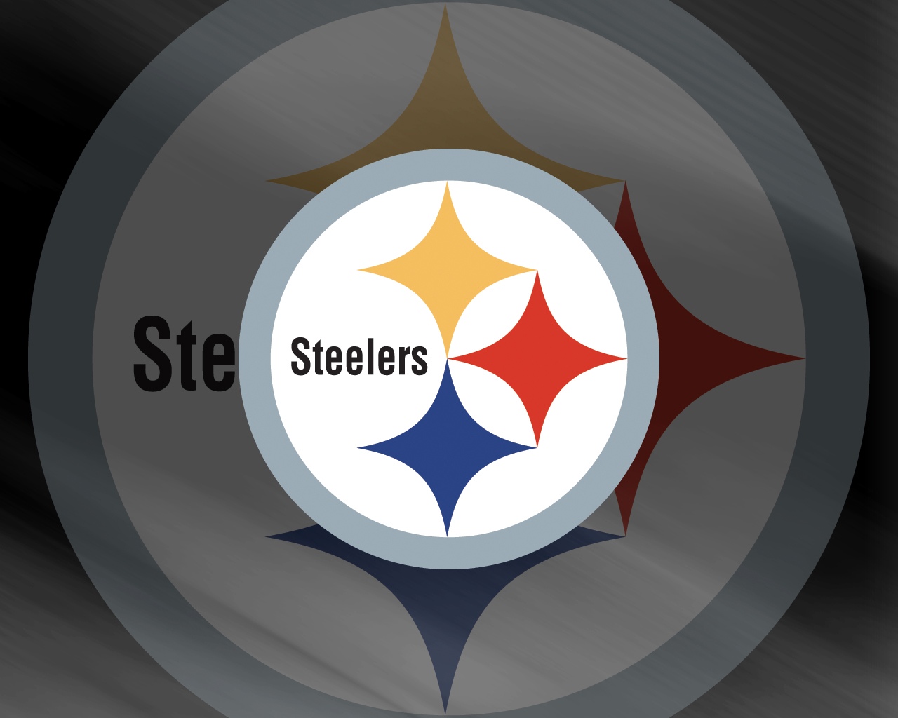 NFL pittsburgh steelers logo wallpaper Urban Art Wallpaper 1280x1024