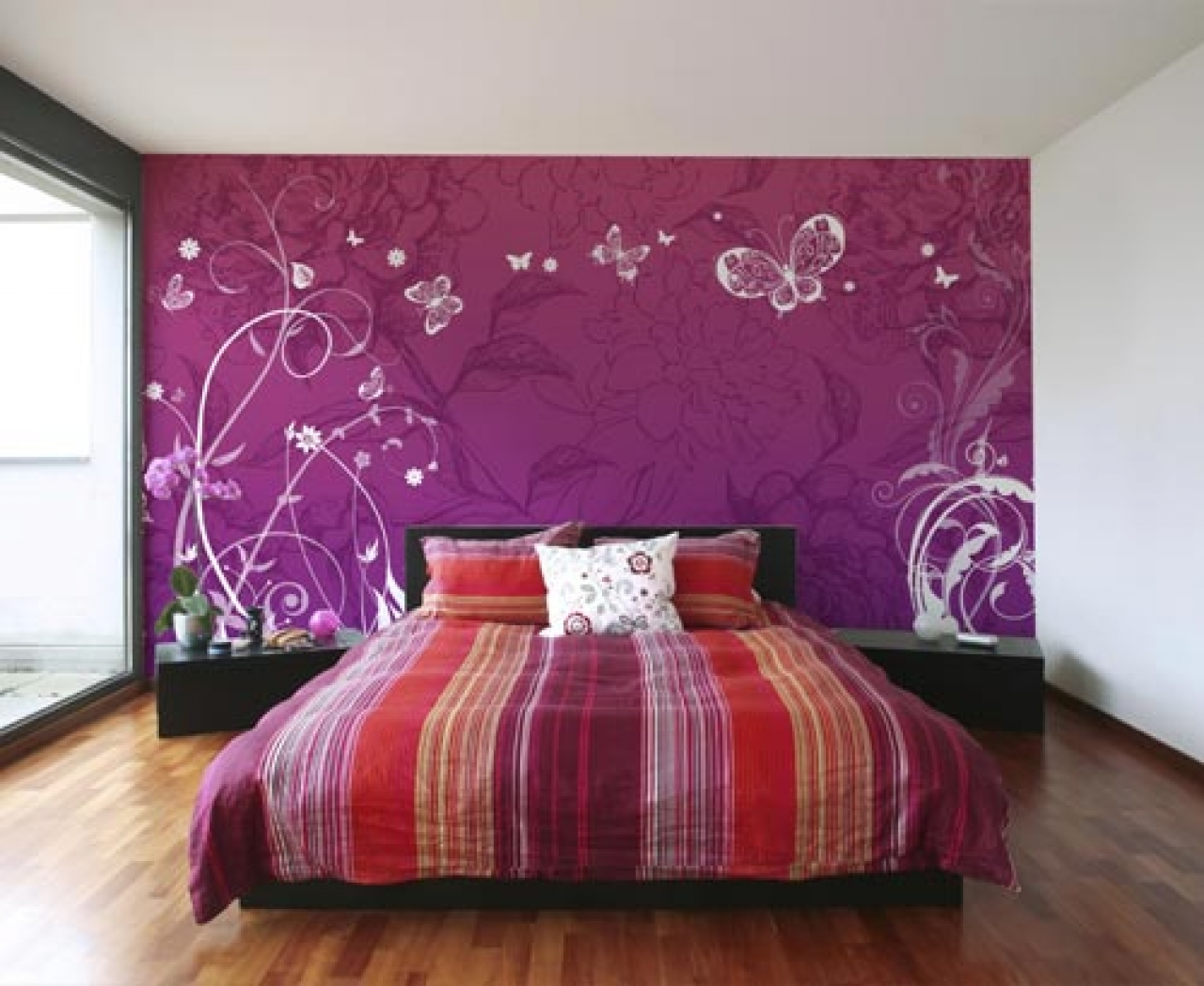 Offer a wide selection of kids bedroom decor ideas including wallpaper 1280x1049