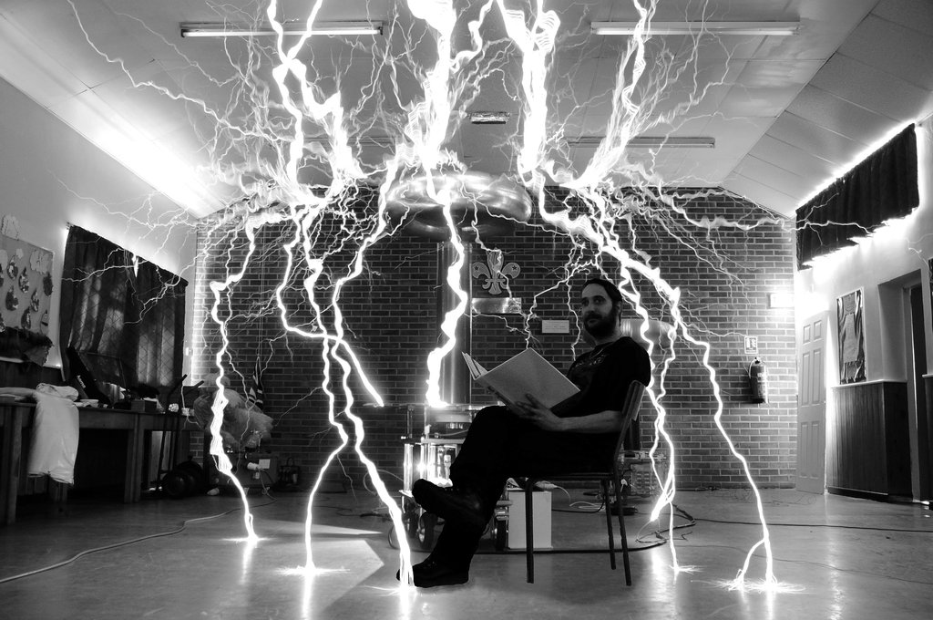Tesla Coil Wallpaper Wallpapersafari