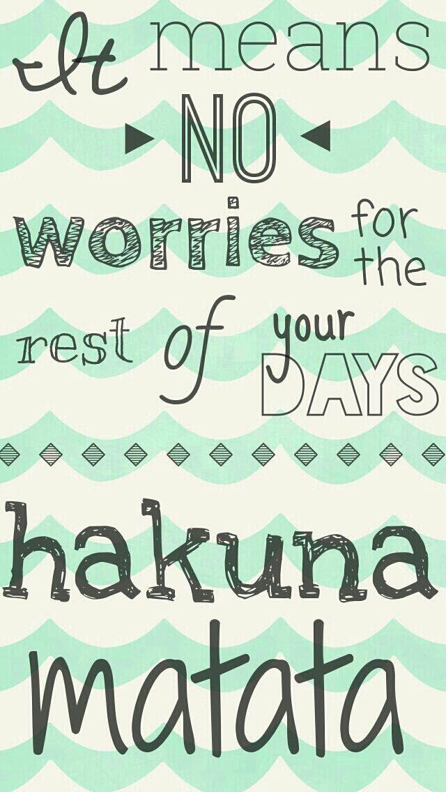 Download Hakuna Matata Wallpaper Tumblr Cute Wallpaper Hakuna Matata