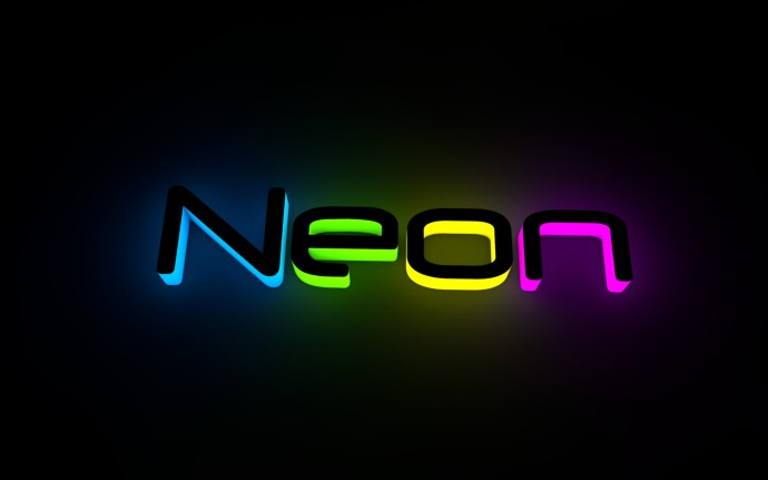 Purple Background Neon HD Wallapers   Yellow Purple Background Neon 690x431