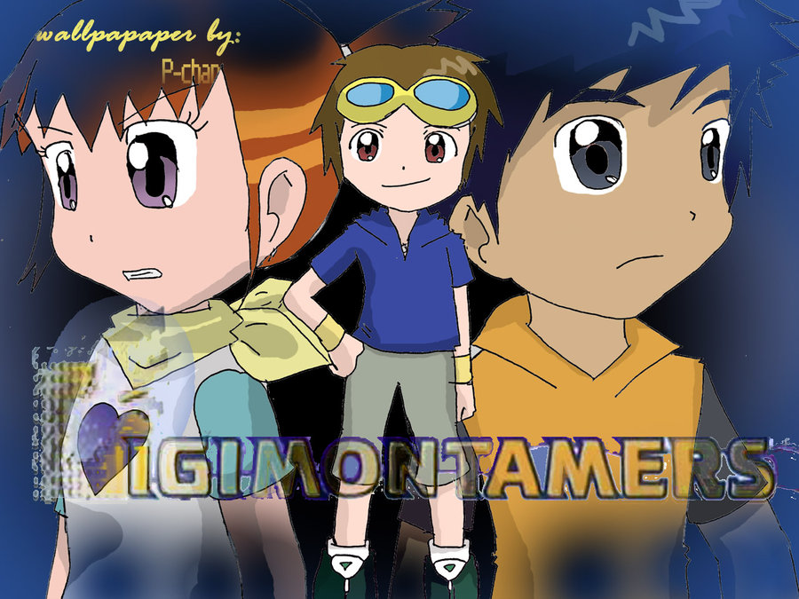 Free Download Digimon Tamers Wallpaper By Patamon Chan