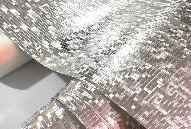 Plastic wallpaper smoother wallpapersafari for Glitter bathroom wallpaper