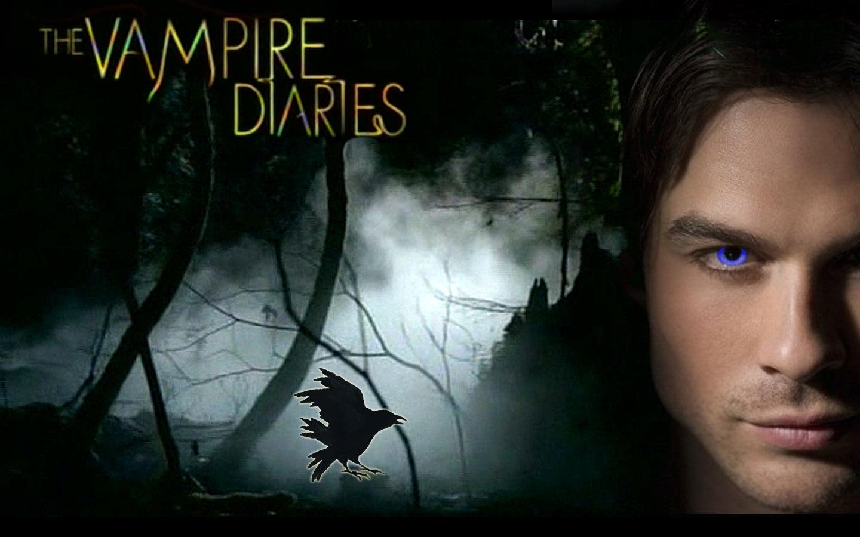 DAMON   The Vampire Diaries TV Show Wallpaper 34282393 1440x900