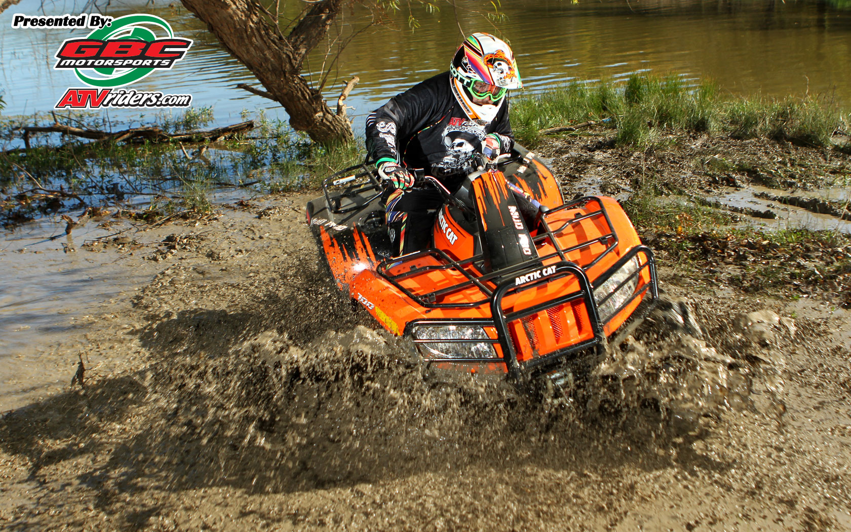 Arctic Cat Mud Pro 700 4x4 Utility ATV Mud   Wednesday Wallpapers 1680x1050