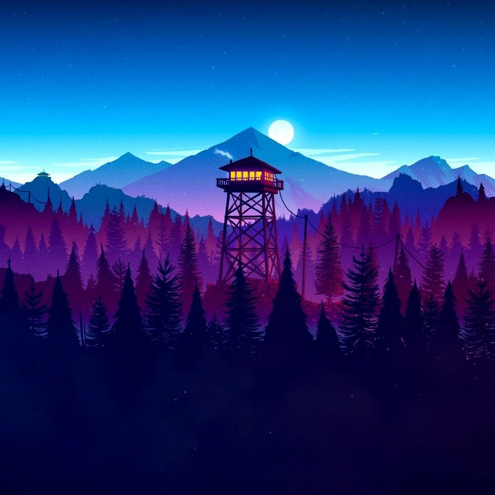 Firewatch Animated Wallpaper for Wallpaper Engine Best 965x965