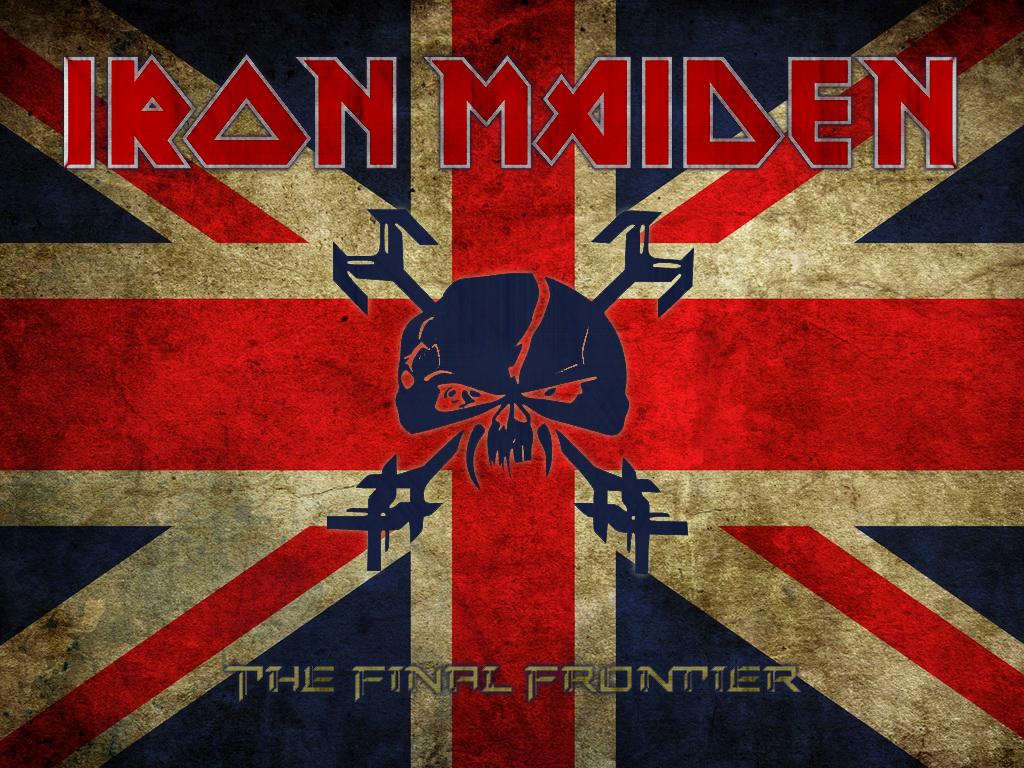 Iron Maiden Logo Wallpaper Images Pictures   Becuo 1024x768