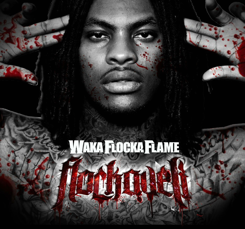 FLOCKA FLAME gangsta rap rapper hip hop poster wallpaper background 1500x1400