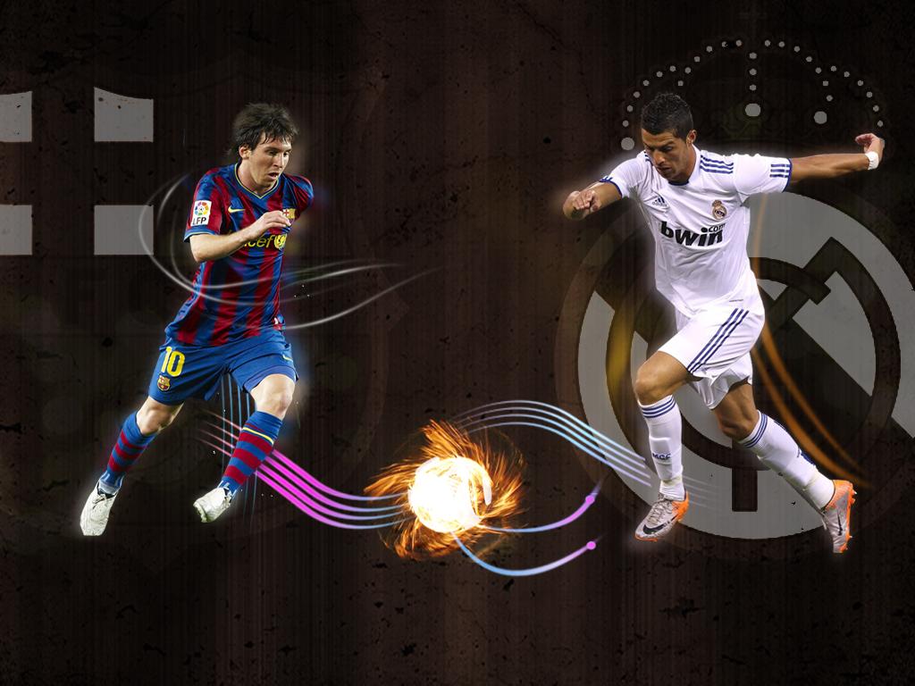 Messi vs Ronaldo Wallpaper 2016 - WallpaperSafari