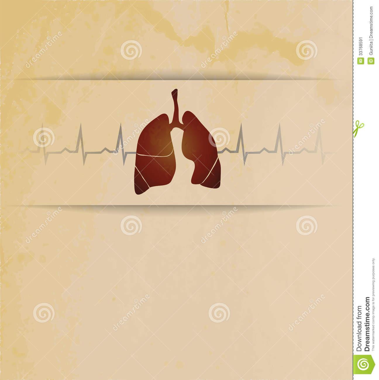 vintage lung design artistic medical wallpaper lungs heart beats 1296x1300