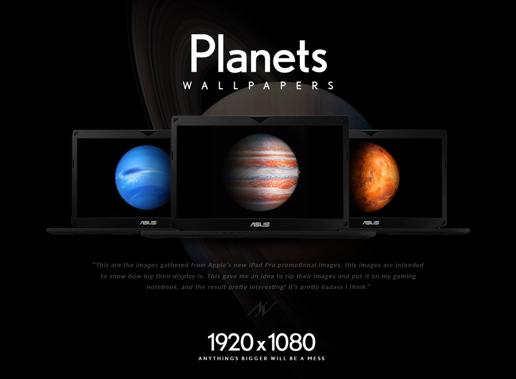 Planet Wallpapers   iPad Pros Images [iOS9] by KevinMoses on 1042x766